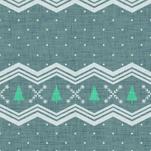 Nordic Christmas Tree - Spruce Green