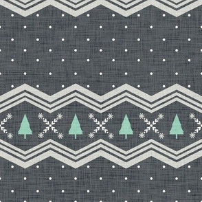 Nordic Christmas Tree - Gray