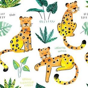 leopard tropical summer
