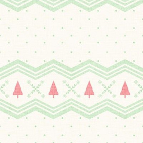 Nordic Christmas Tree - Cream