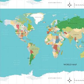 World Map FQ