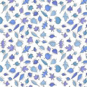 happy little blue leaves