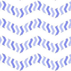 Metachevron in blue-violet