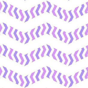 Metachevron in purples