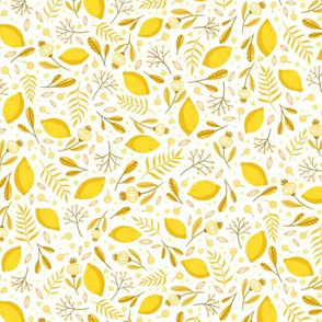 Yellow garden - small scale