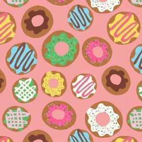 Donut Allover Peach
