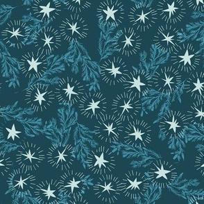 Star burst (navy) MED