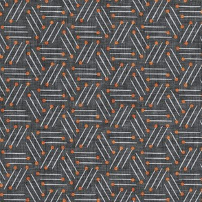 Good Morning Stripe (charcoal) MED