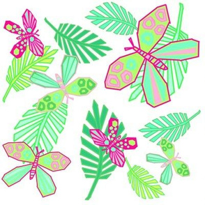 Spring Butterfly Papercut