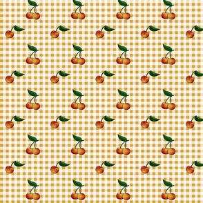 Rainier Cherry Gingham