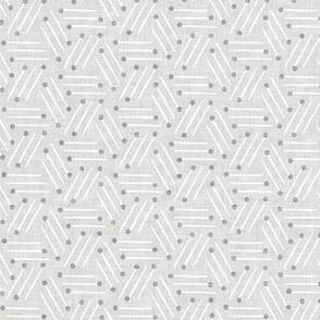 Good Morning Stripe (grey) MED