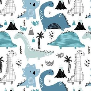 Funny Dino pattern