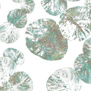 Sea Grapes Verdigris Copper 150