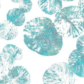 Sea Grapes Teal Patina 150