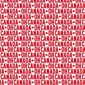 oh canada uppercase XSM maple leafs || canada day canadian july 1st