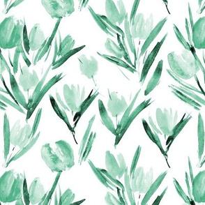 Emerald tulips for princess p264