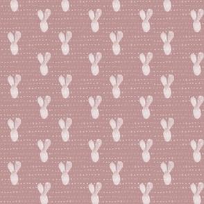 20-04w Boho Bunny Rose Pink Blush