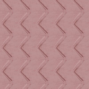 20-04k Boho Railroad Texture Chevron Arrow Rose Blush Pink