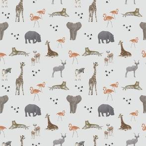 Safari Animals - Small Scale