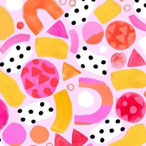 Vida - Peony Pink - Large scale