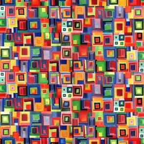 vibrant squares