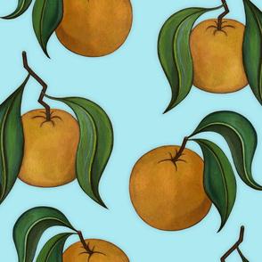 Orangepattern Mint Large