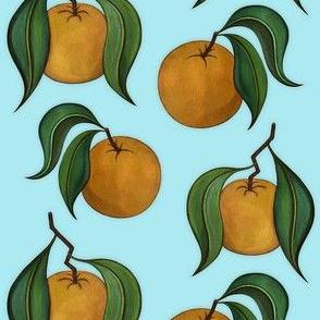 Orangepattern Mint Small