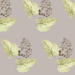 Grapes ash gray