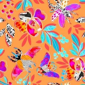 Beetle&Bloom - paper cut napkins