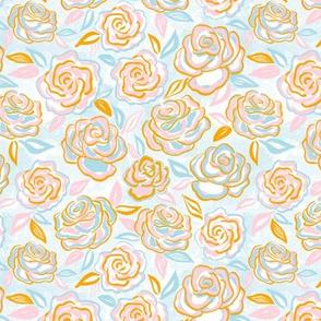 sketchy roses/small