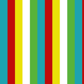 Summer Fun Palette Stripes
