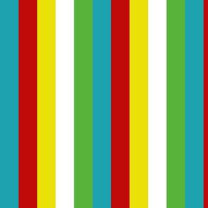Summer Fun Palette Stripes