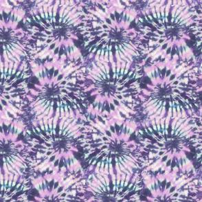 Purple Tie-Dye Swirls medium