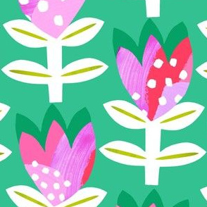 Tulipa Abstract - Emerald green