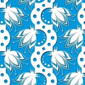 Flores Chartam (azure)