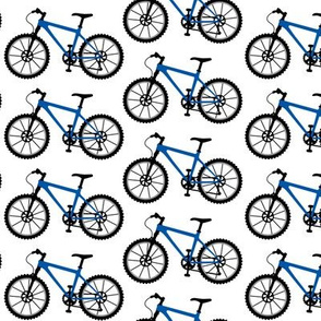 Mountain Bike blue - large