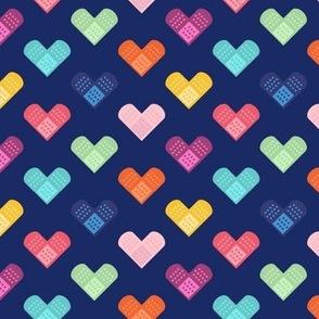 Bandage Hearts - Small