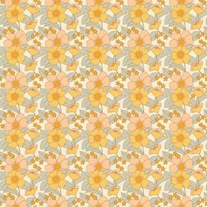 70s Floral Sunshine - PLUS-  Reduced