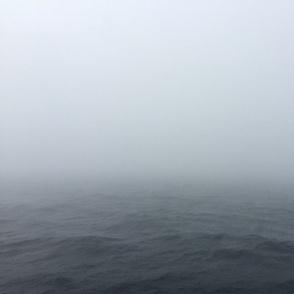 Hazed waves grey