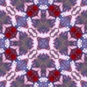 Ruby mosaic