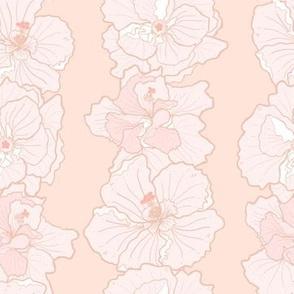 light hibiscus lei
