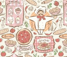Italian Cafe - large