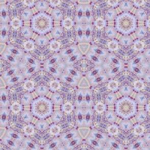 Violet pastel elegant geometric pattern