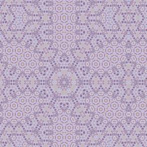 Violet pastel polygon geometric elegant classic pattern