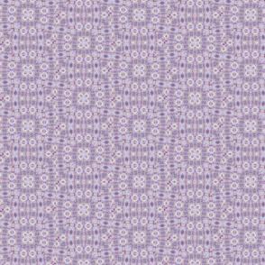 Pastel violet square classic elegant pattern
