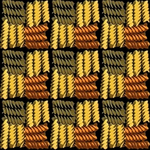 veggie rotini weave