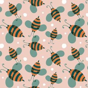 Bee Happy - Blush Pink Regular Scale