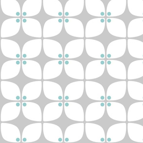 Square Gray Mod Teal