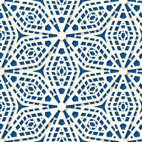 Intricate Lace Paper Cut Flowers Large