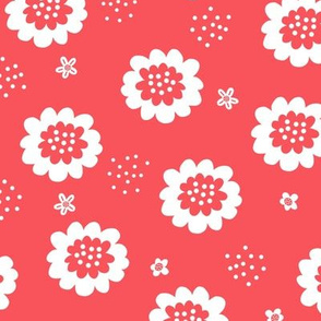 Enchanted Floral - Coral